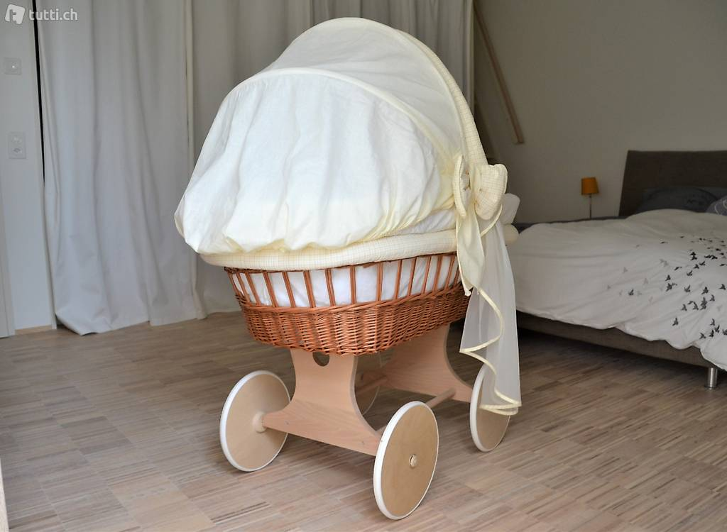 Waldin stubenwagen bollerwagen babybett in zürich kaufen tutti