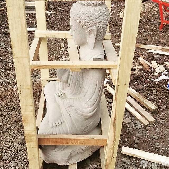 Skulptur stein buddha dekoration budha statue design for Stein dekoration garten