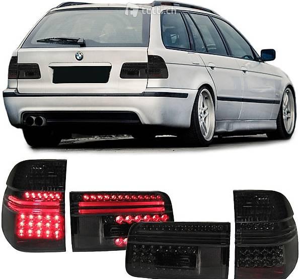 Rückleuchten Klarglas Heckleuchten BMW E39 Touring Bj 97-04 Rot//Schwarz