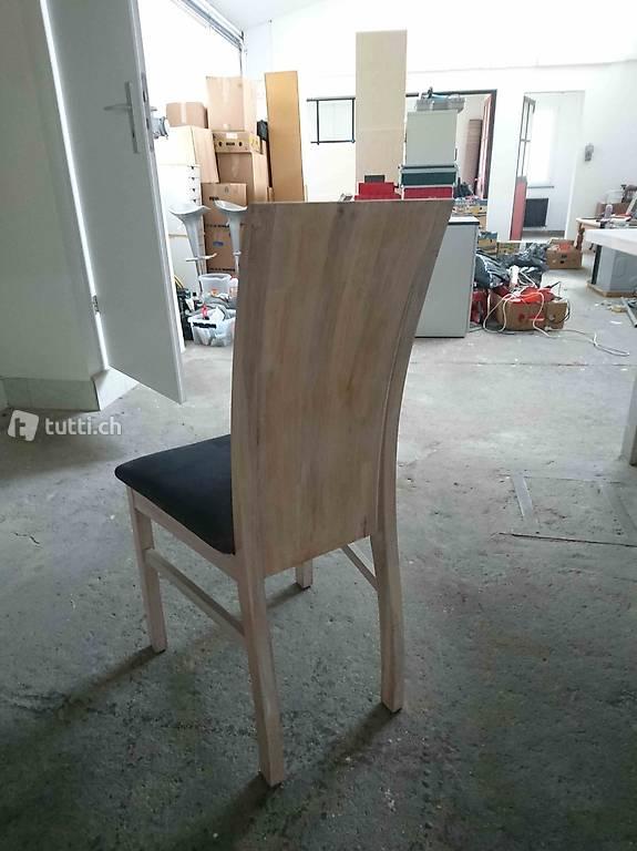 massiv eiche tisch und st hle in solothurn kaufen. Black Bedroom Furniture Sets. Home Design Ideas