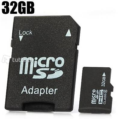 32 gb micro sd karte mit adapter in st gallen kaufen. Black Bedroom Furniture Sets. Home Design Ideas