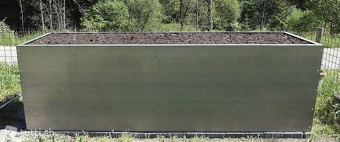hochbeet aus stahl l 295cm b 95cm h 90cm in z rich. Black Bedroom Furniture Sets. Home Design Ideas