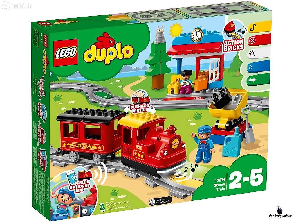 LEGO® Duplo Eisenbahn 10872 Eisenbahnbrücke und Schienen NEU /& OVP