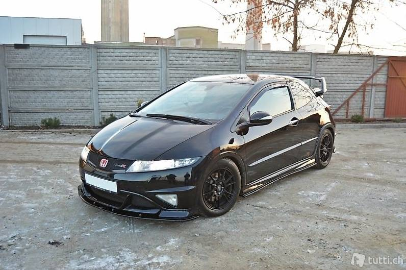 spoilerlippe honda civic 8 viii type r grand prix lippe in st gallen kaufen d s car factory. Black Bedroom Furniture Sets. Home Design Ideas