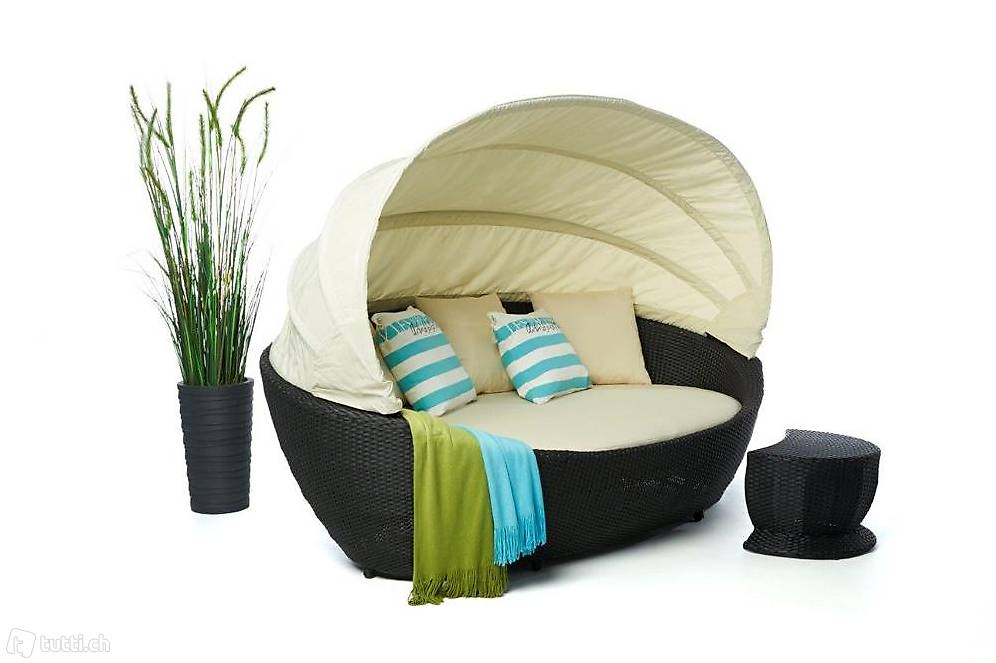gartenm bel strandkorb sonneninsel in z rich kaufen viplounge. Black Bedroom Furniture Sets. Home Design Ideas