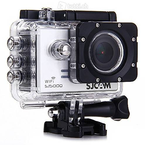 Actioncam / Dashcam silber SJ5000+ WiFi Full HD-Kamera 16 MP in ...