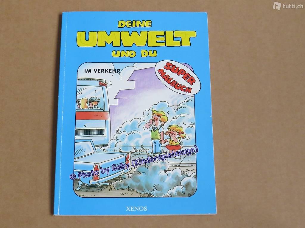 Super-Malbuch: Deine Umwelt und du (Im Verkehr) in Thurgau kaufen ...
