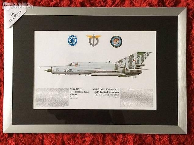 Staffelbild MIG-21 Tschechische Luftwaffe in Zürich kaufen - tutti.ch