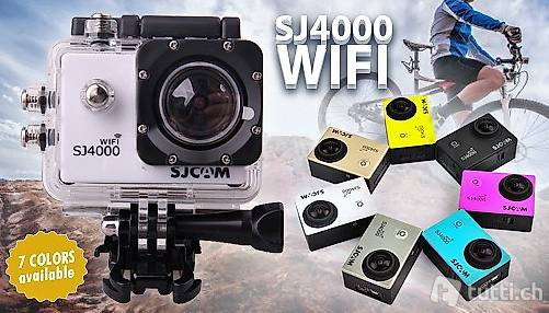 Actioncam / Dashcam gold, WIFI, Full HD - Kamera mit 12 MP in Luzern ...