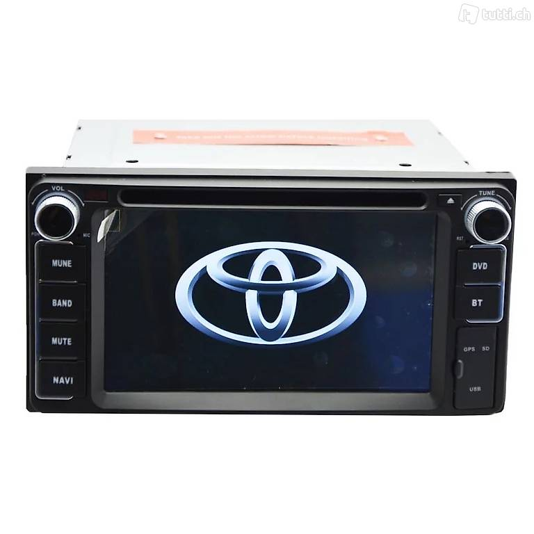 Toyota Dvd Navi System Radio Usb Sd Touchscr