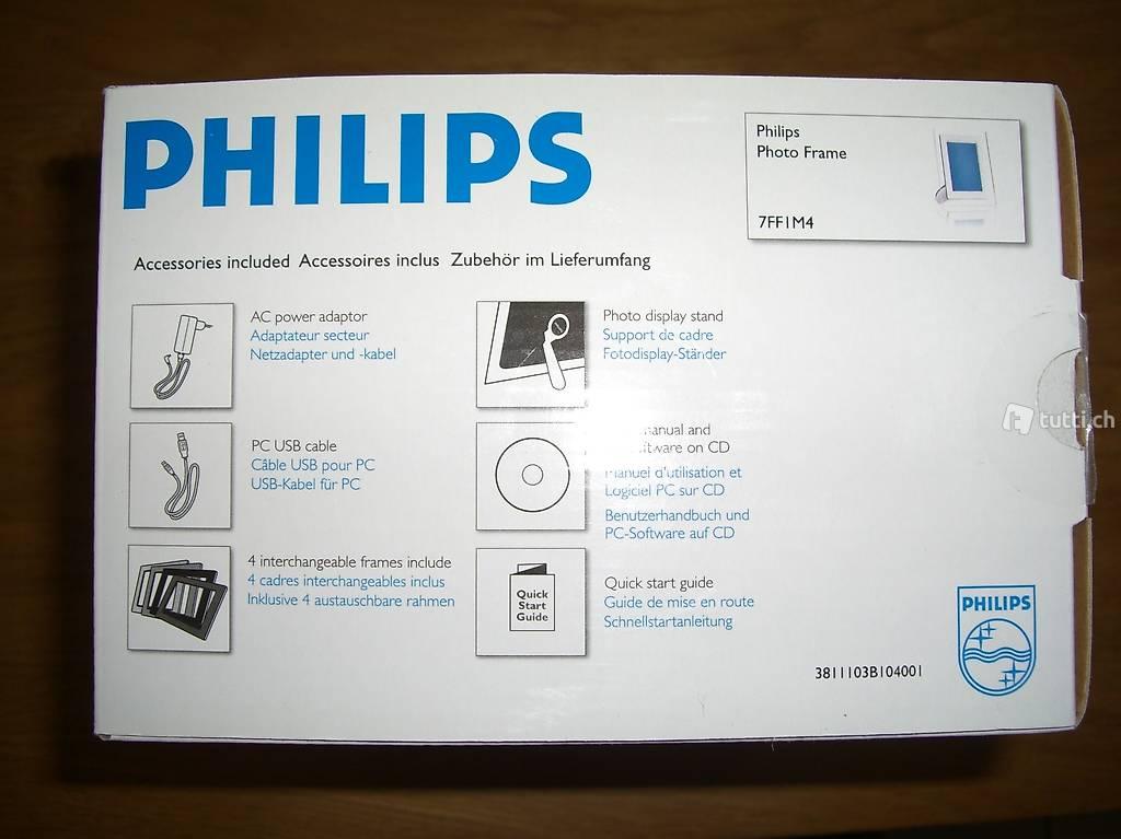 Digitaler Fotorahmen / Philips PhotoFrame 7FF1M4/00 in St. Gallen ...