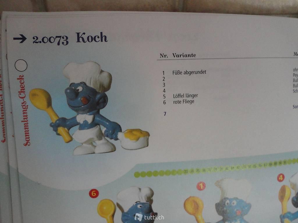 Schlumpf Schlümpfe === 2.0073 === Koch Löffel rot