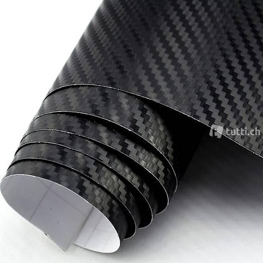 premium 3d carbon folie schwarz in basel kaufen. Black Bedroom Furniture Sets. Home Design Ideas