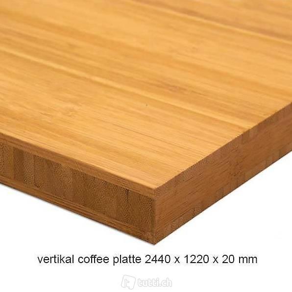 tischplatte aus bambus bambusplatte in bern kaufen. Black Bedroom Furniture Sets. Home Design Ideas