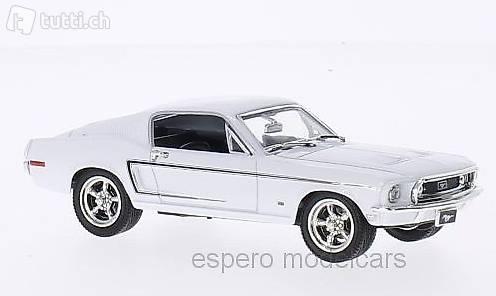 1:18 Ford Mustang GT 1967 weiß Ertl NEU in OVP
