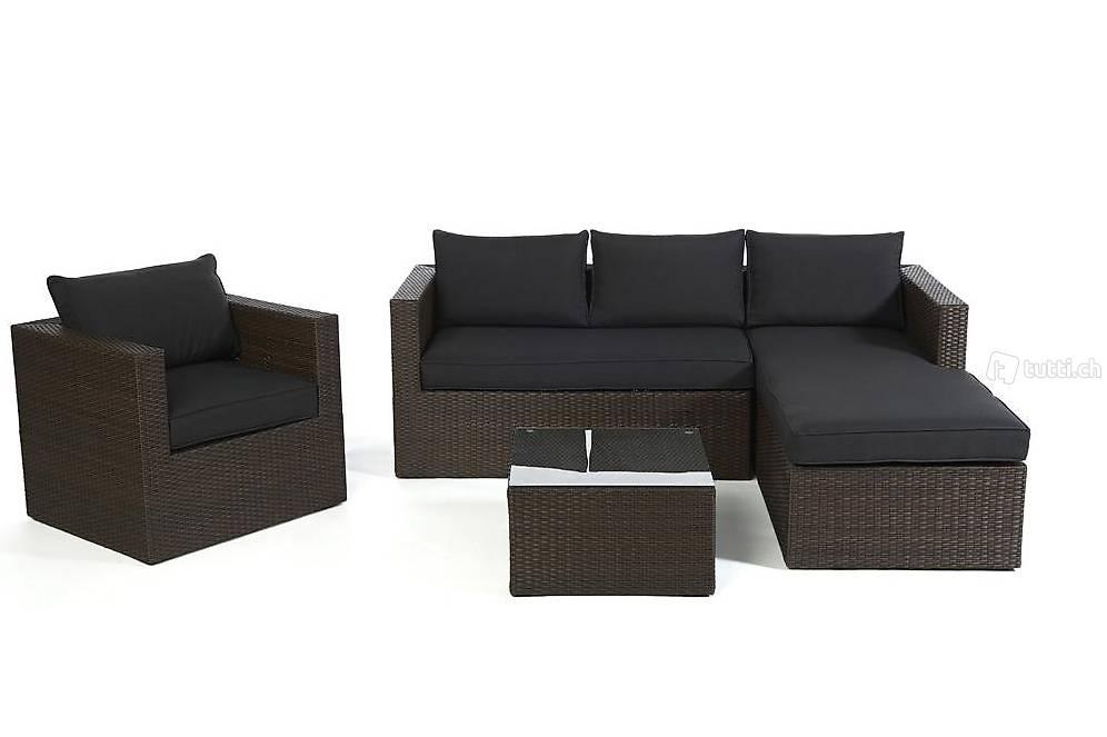 rattan lounge rattan gartenm bel braun viplounge in z rich kaufen viplounge. Black Bedroom Furniture Sets. Home Design Ideas