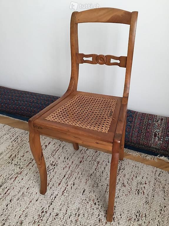 antike m bel basel stuhl nussbaum biedermeier ca 1850 in basel kaufen. Black Bedroom Furniture Sets. Home Design Ideas