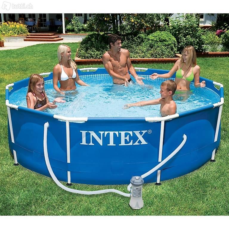Wunderbar Intex 15 X 48 Metallrahmen Pool Zeitgenössisch ...