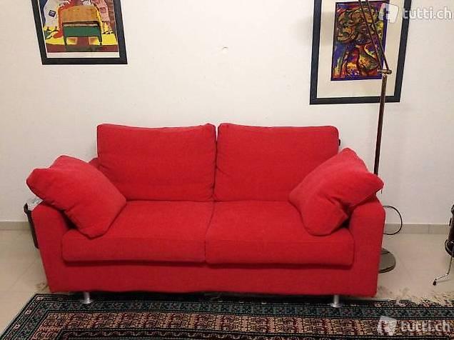 Bellisimi divani rossi in ottimo stato in tessin kaufen for Divani rossi