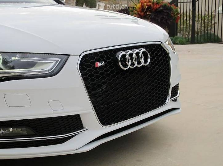rs4 grill chrom audi a4 s4 b8 facelift ab 2013 rs in. Black Bedroom Furniture Sets. Home Design Ideas