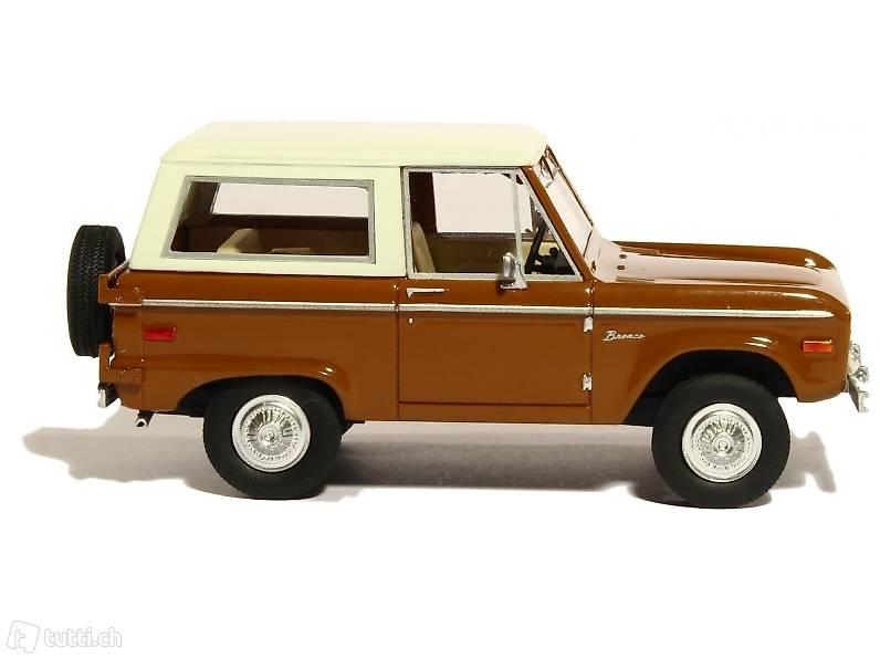 NEU: Ford Bronco I 1966-1977 braun / weiss 1:43 in Solothurn kaufen ...