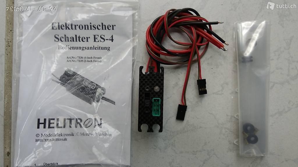 HELITRON Elektronischer FET Sicherheits-Schalter ES-4 NEU!!! in ...