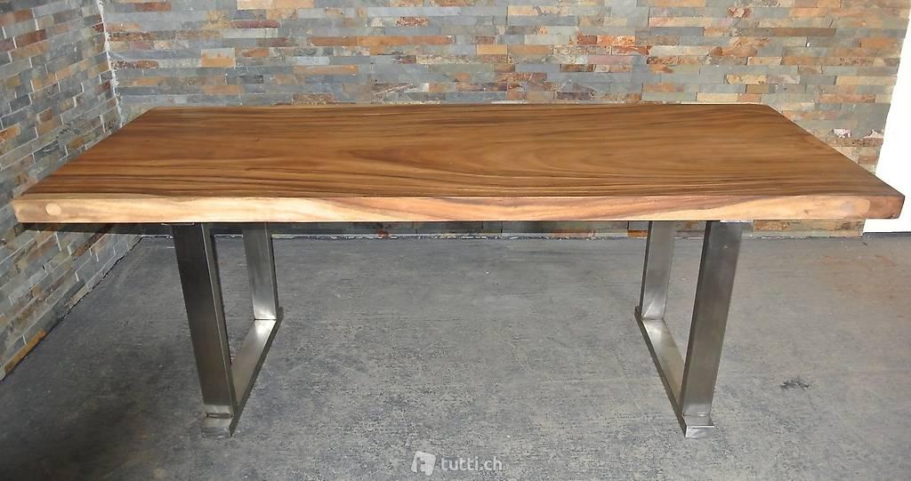 Suar Wood Tafels : Esstisch küchentisch holztisch suar holz wohnzimmertisch in zürich