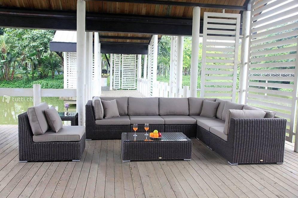 rattan lounge garten lounge rattanm bel in z rich kaufen viplounge. Black Bedroom Furniture Sets. Home Design Ideas