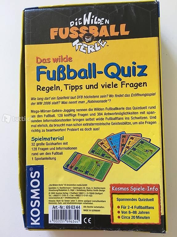 Kosmos Spiele Die Wilden Fussball Kerle Fussball Quiz In