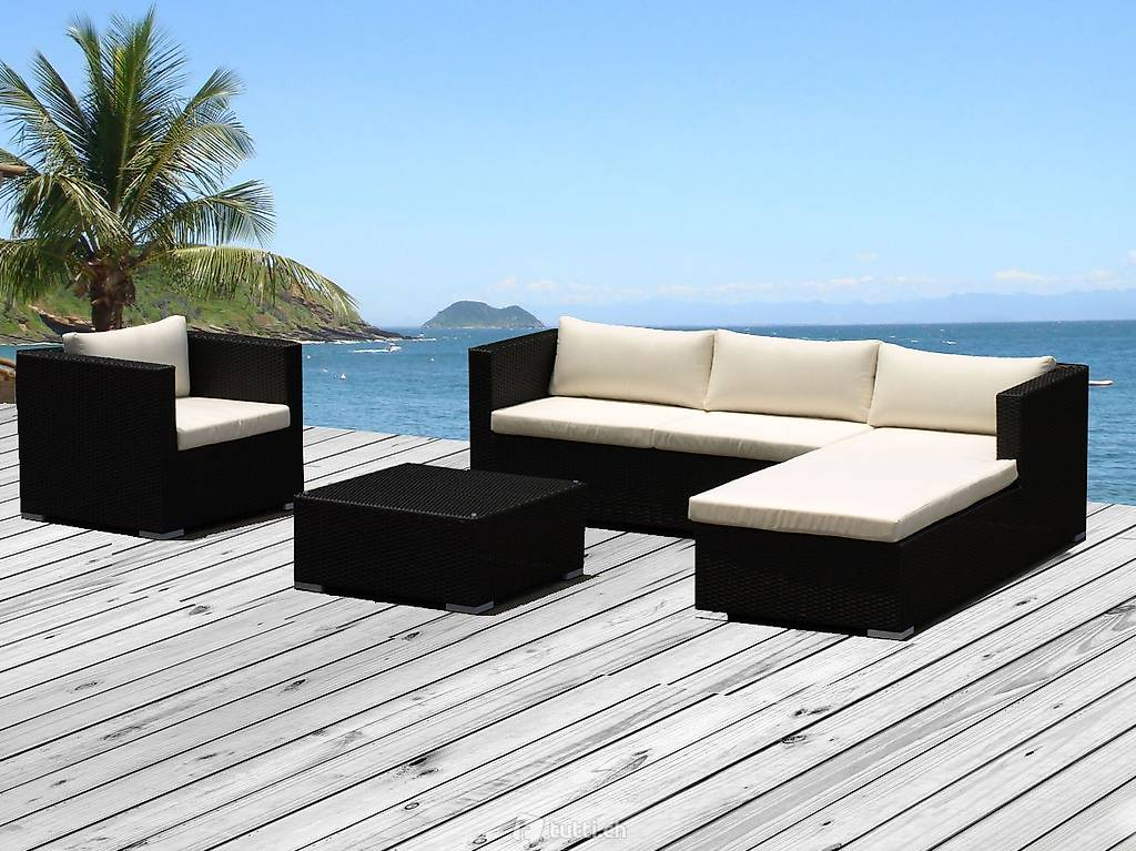 garten sitz lounge rattan kissen weiss in aargau kaufen m bel peter. Black Bedroom Furniture Sets. Home Design Ideas