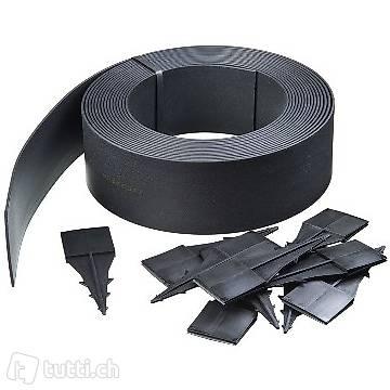 garteneinfassung 500x9 cm schwarz in zug kaufen - meinhaustier24