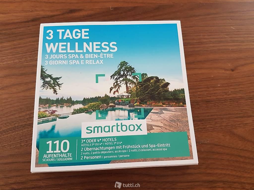 Smartbox 3 Tage Wellness in St. Gallen kaufen - tutti.ch