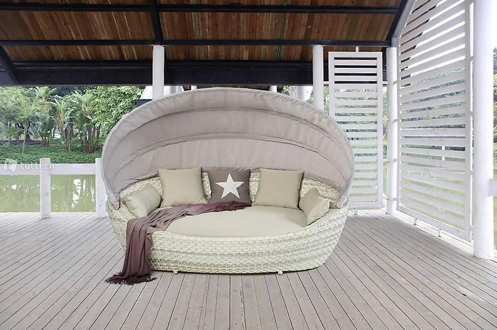 rattan strandkorb rattan sonneninsel rattan gartenm bel in z rich kaufen viplounge. Black Bedroom Furniture Sets. Home Design Ideas