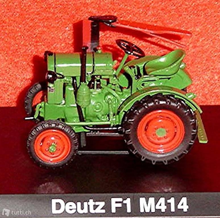 Atlas 1:43 Traktor Deutz F1M 414 1951