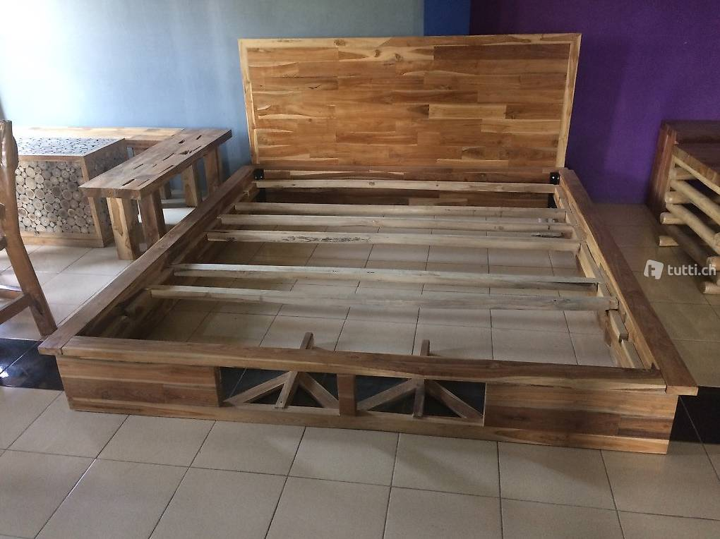 Geräumig Bett Einzel Ideen Von Design Einzel-doppelbett Betten Massiv Holzbett Holz In