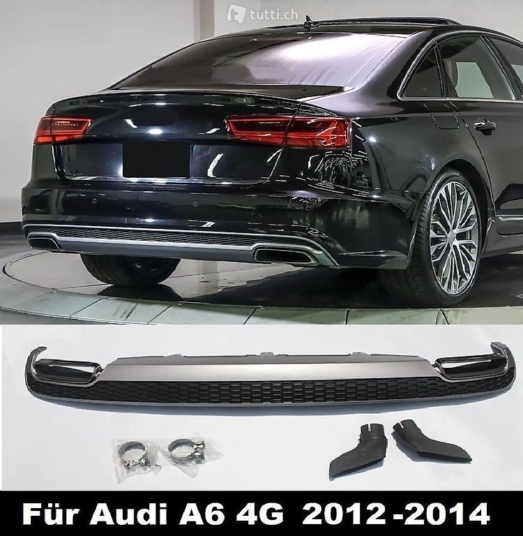 A6 4G S6 Diffusor Für Audi Tuning Heckdiffusor S6 Look In