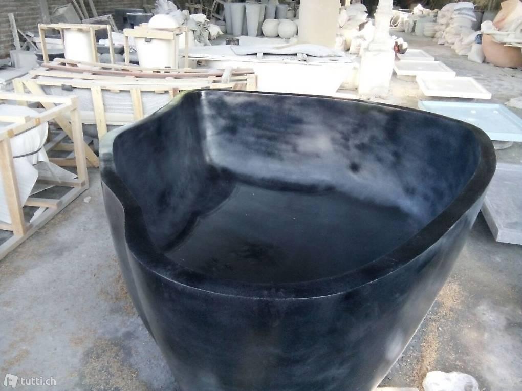 badewanne freistehend wanne stein garten pool steinwanne. Black Bedroom Furniture Sets. Home Design Ideas