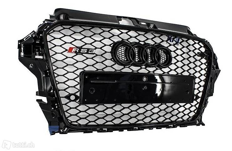 rs1 grill chrom audi a1 rs wabengrill frontgrill in z rich. Black Bedroom Furniture Sets. Home Design Ideas