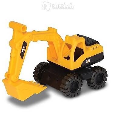 caterpillar rugged machines bagger gelb in zug kaufen