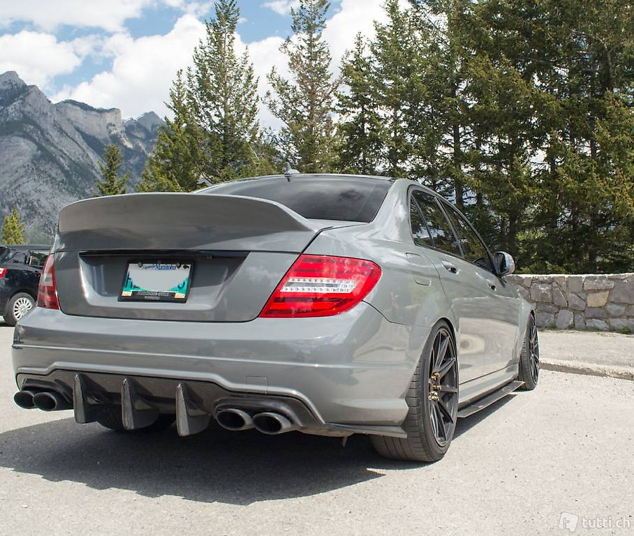 rear spoiler ducktail mercedes w204 c63 amg in st gallen. Black Bedroom Furniture Sets. Home Design Ideas