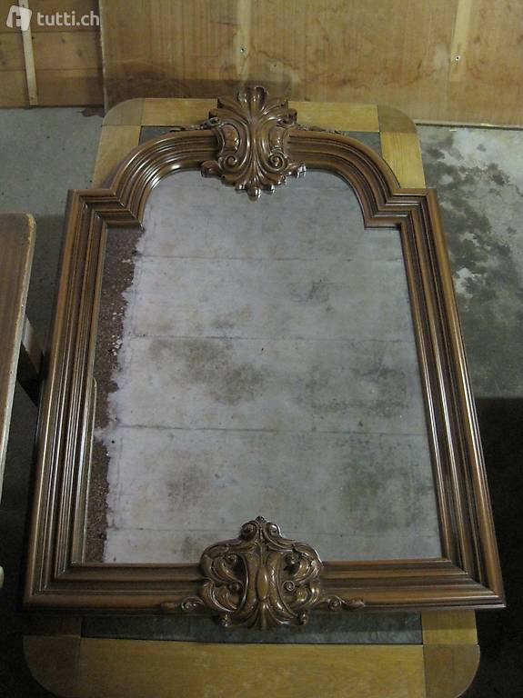 spiegel miroir empire stil vintage shabby edel in aargau kaufen. Black Bedroom Furniture Sets. Home Design Ideas