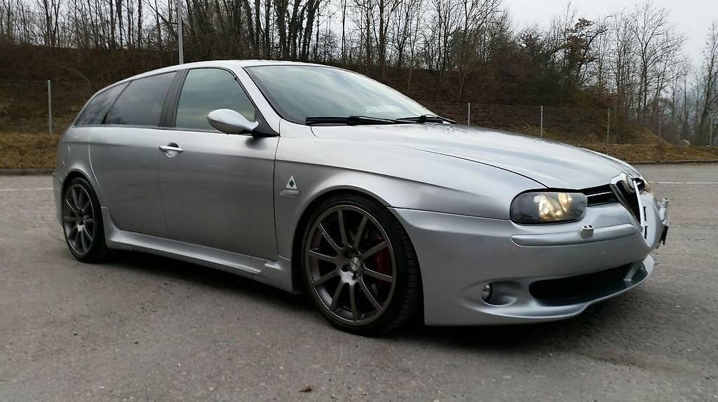 alfa romeo 156 sw gta 3 2 in aargau kaufen. Black Bedroom Furniture Sets. Home Design Ideas