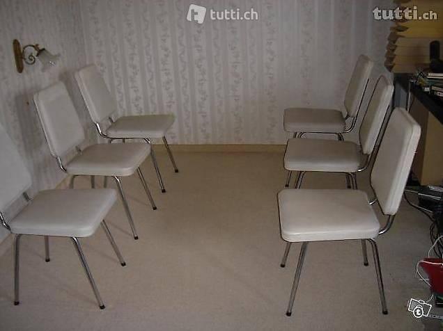 esszimmertisch und 6 st hle in aargau kaufen. Black Bedroom Furniture Sets. Home Design Ideas