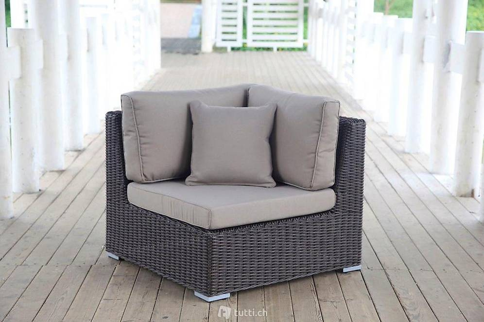 gartenm bel rattan lounge luxus gartenlounge in z rich kaufen viplounge. Black Bedroom Furniture Sets. Home Design Ideas