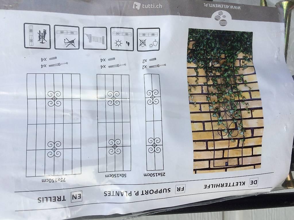 neue kletterhilfe f r pflanzen in luzern kaufen. Black Bedroom Furniture Sets. Home Design Ideas