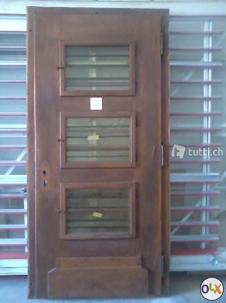 a vendre porte d 39 entr e d 39 immeube en ch ne d 39 occasion in vaud acheter. Black Bedroom Furniture Sets. Home Design Ideas