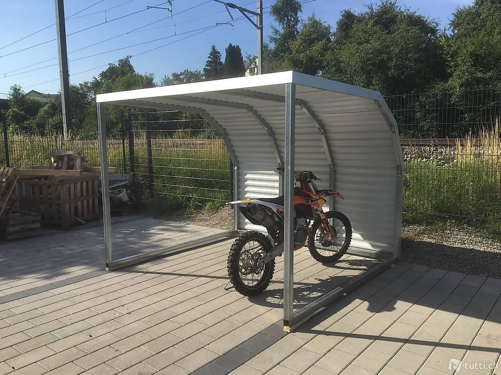 unterstand garage f r velo und motorr der in thurgau. Black Bedroom Furniture Sets. Home Design Ideas