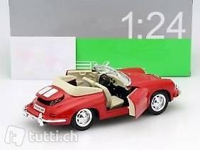 Porsche 911 Turbo 3.0 Baujahr 1974 silber 1:24 Welly