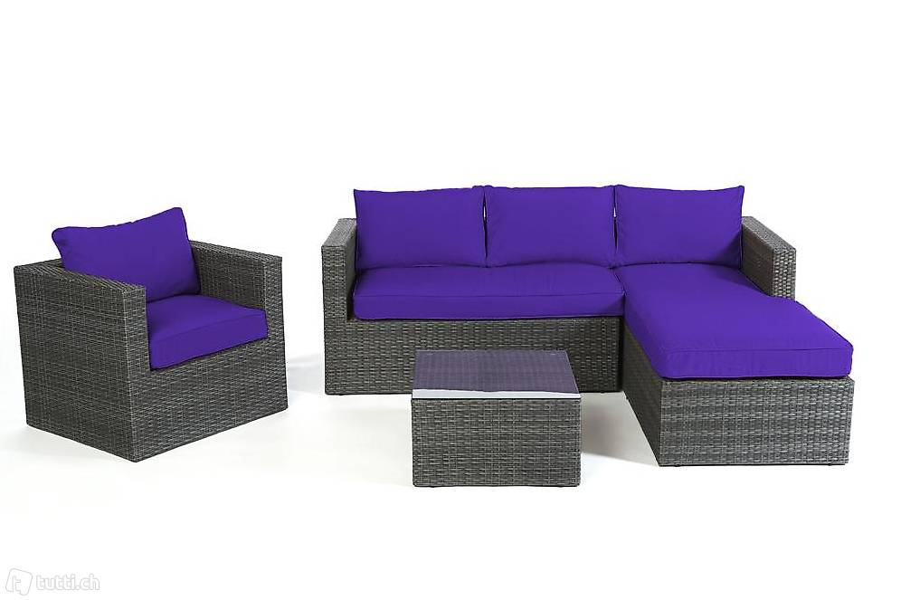 rattan rattanm bel rattan lounge gartenm bel in st gallen kaufen viplounge. Black Bedroom Furniture Sets. Home Design Ideas