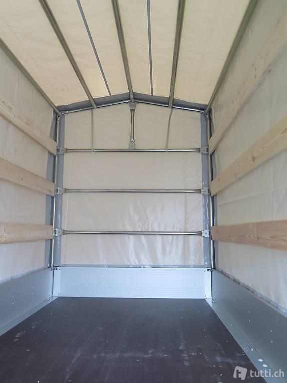 blachenanh nger b ckmann hl al 5121 3500kg hochlader plane in zurigo acquistare b ckmann. Black Bedroom Furniture Sets. Home Design Ideas